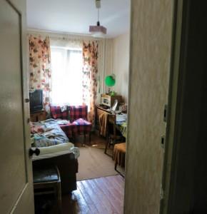 Tatianas cramped bedroom