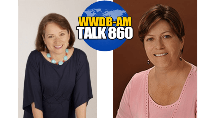 Nancy Collamer, left, and Brenda Clement, are the guests on the March 29 Boomer Generation Radio show.