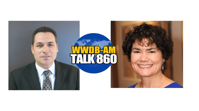 Insurance professional Andrew Becker, left, and Generations United executive director Donna Butts are the guests on the May 24, 2016 Boomer Generation Radio