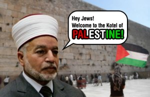 Palestine at the Kotel