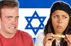 Americans Try Israeli Food causing Butthurt
