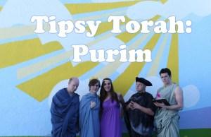Tipsy Torah: Purim (Drunk History Parody)