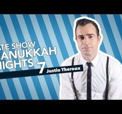 Spend The Seventh Night Of Hanukkah With Justin Theroux