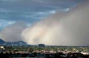 Haboob Over a Southwestern U.S. City in 2012