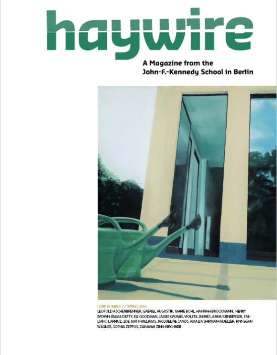 Haywire Issue 7 Spring 2016