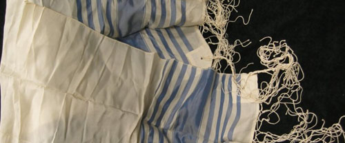 A Tallit is a prayer shawl.