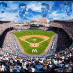 Babe Ruth, Joe DiMaggio, Lou Gehrig, Mickey Mantle