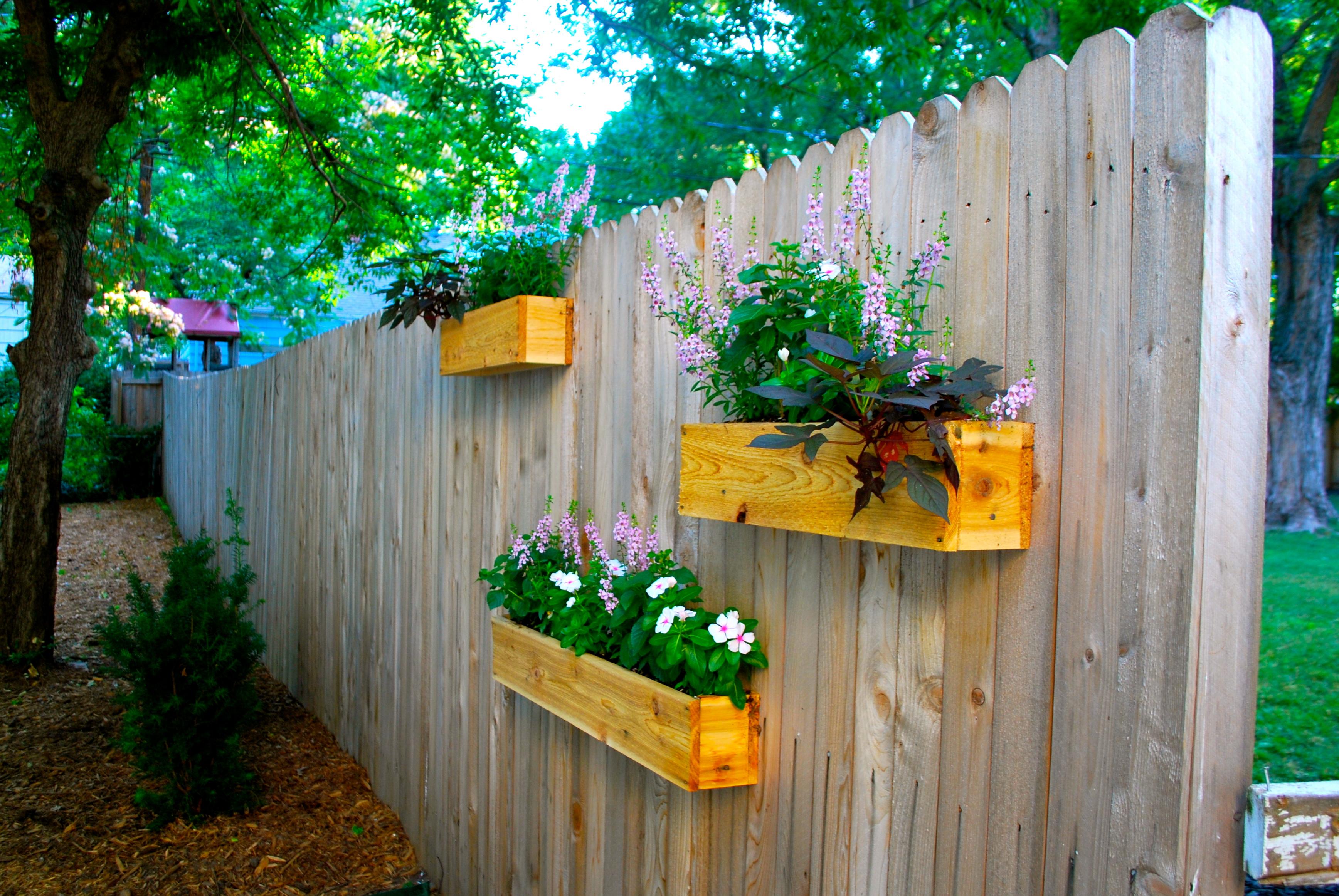Fullsize Of Fence Garden Planters