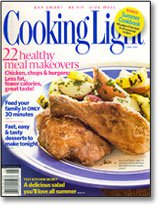 Cooking Light June 2009 Cover