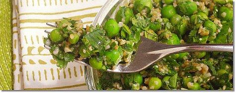 Green Pea Tabbouleh