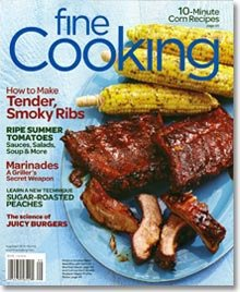 Fine Cooking August/September 2012 Cover