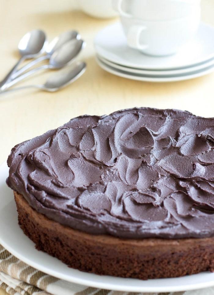 Chocolate Turkish Coffee Cake on JillHough.com