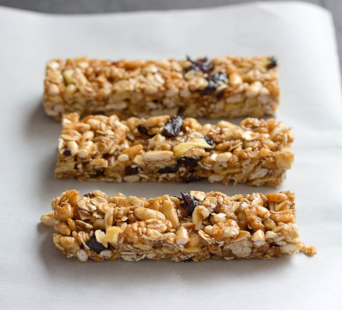 Fruit and Nut Bars / JillHough.com