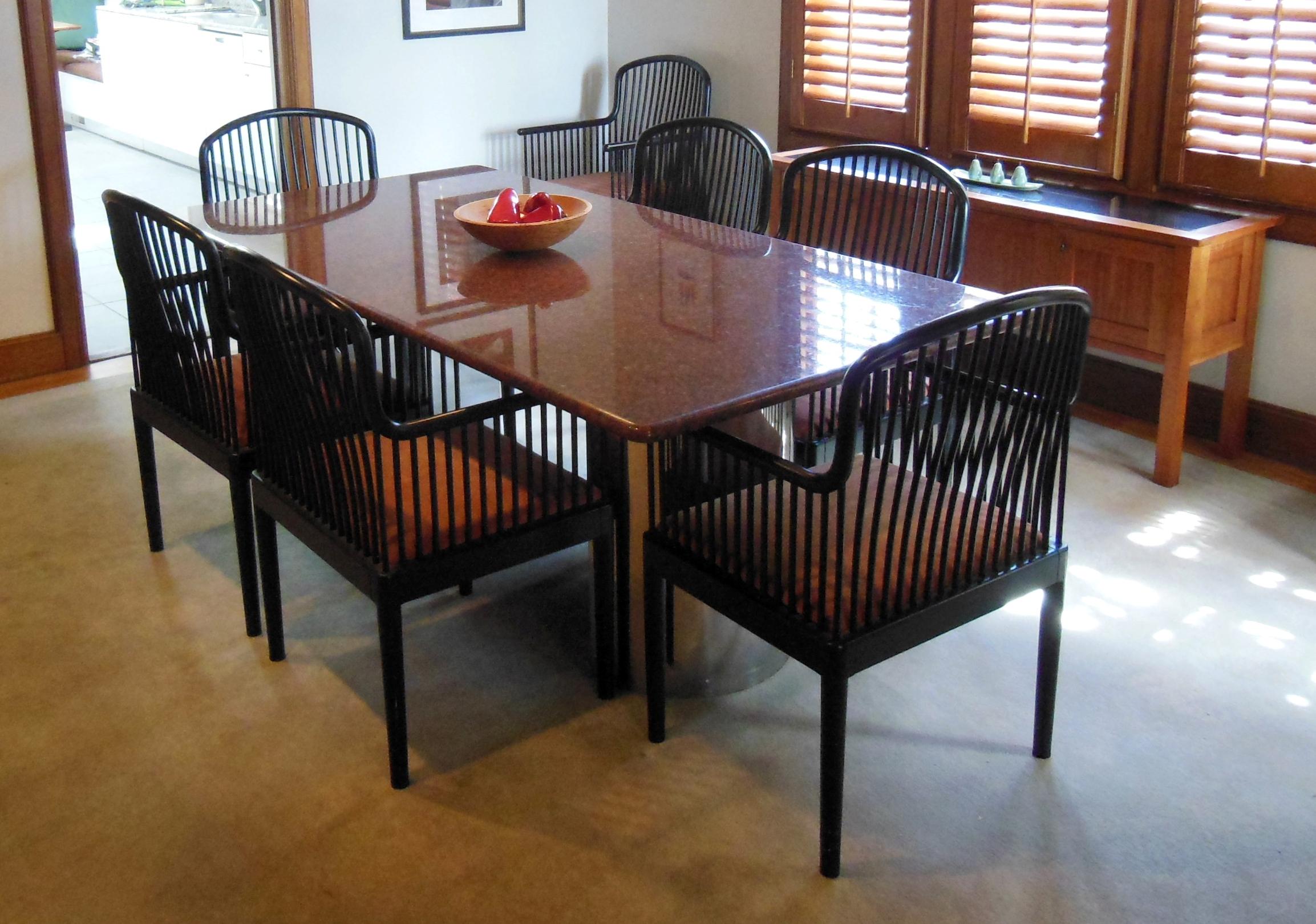 design granite top kitchen table Granite Dining Table