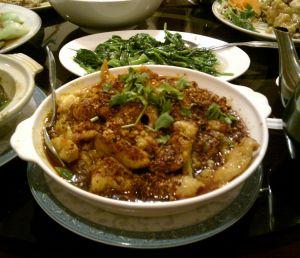 水煮魚片 Boiled Fish Fillet in Szechuan Sauce