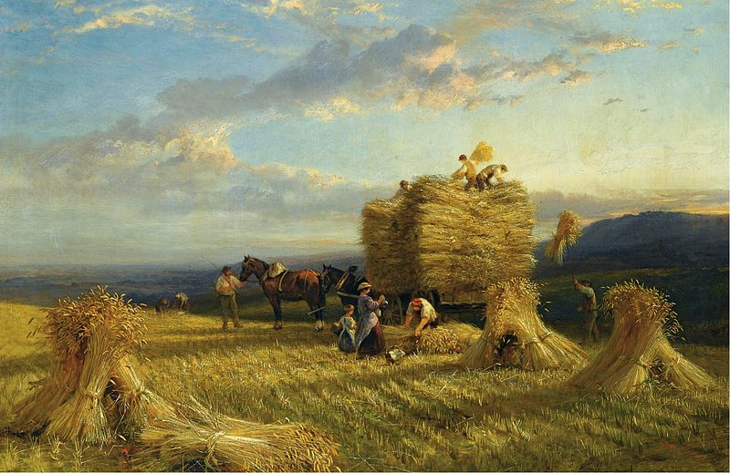 800px-George_Cole_-_The_last_load