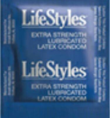 Condom Lifestyles Extra Strength Lubricated 1000 per Case ...