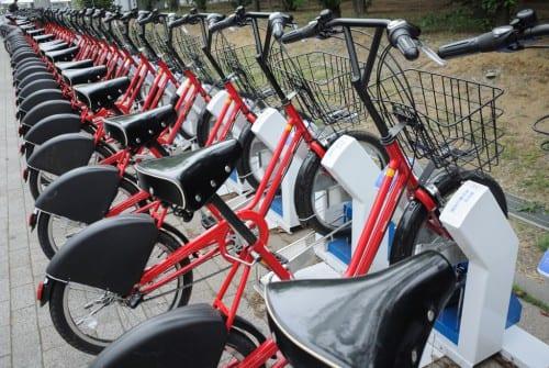 自転車をもっと身近に!レンタサイクルの新しい形「シェアサイクル」