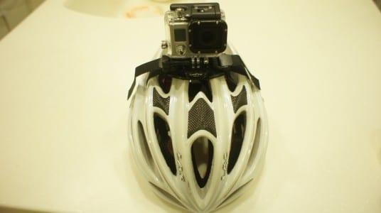 GoProをヘルメットにつけて自転車に乗ってみたらこうなる!