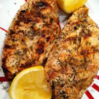 Greek Garlic BBQ Chicken - It's About Thyme