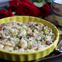 Celery Lima Bean Salad - Smart Food