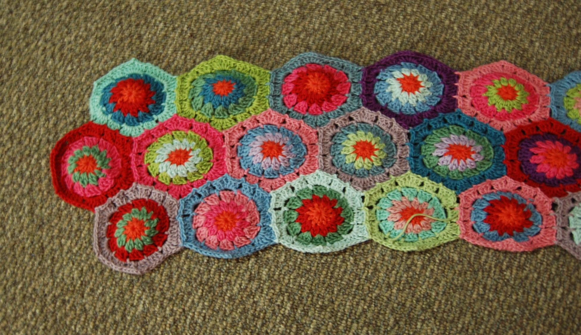 Crochet Hexagon Blanket Jjcrochet