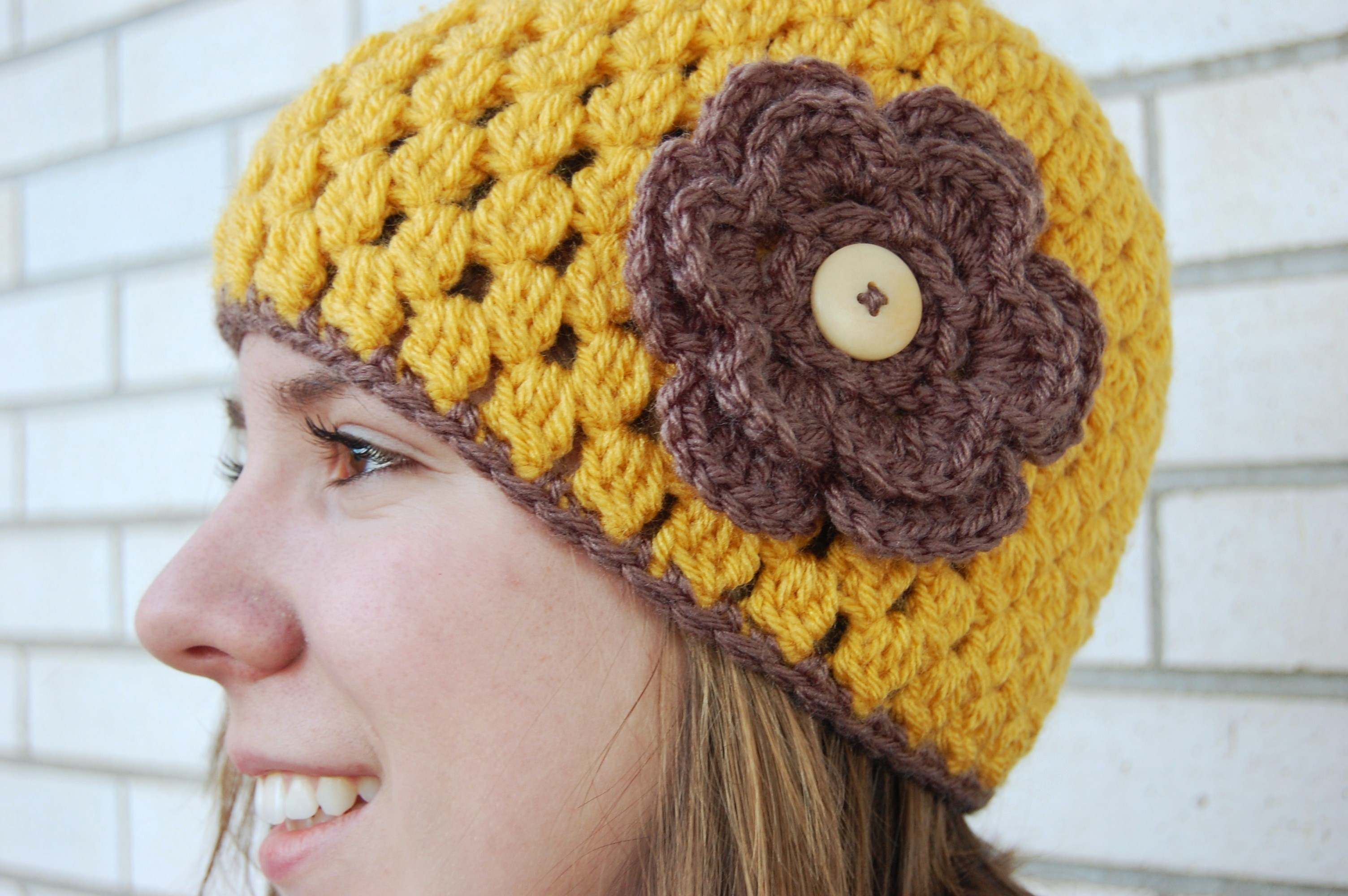 Crochet Patterns J Hook : named this Jenny Lee crochet hat pattern after one of my current ...