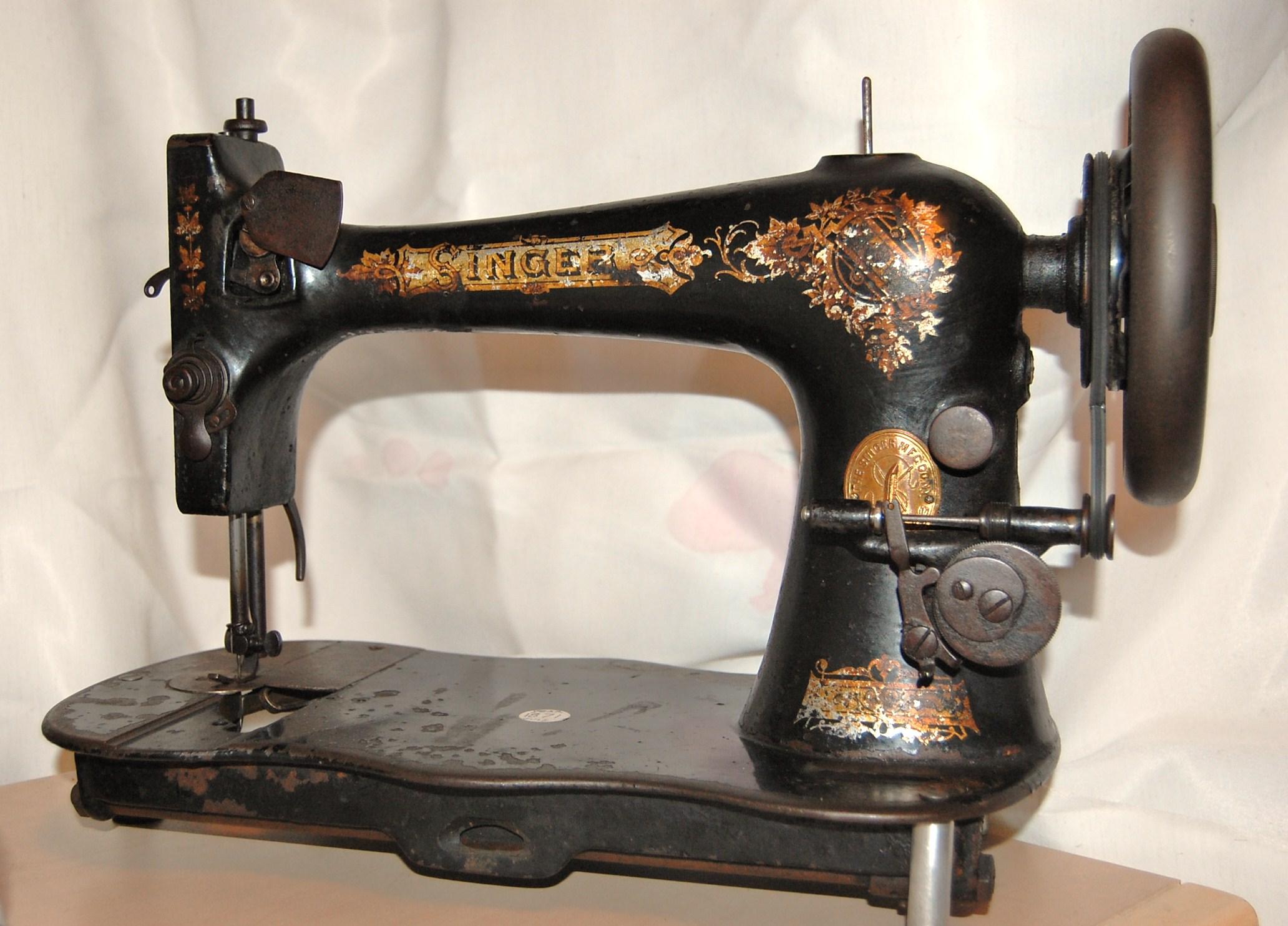 1871 singer sewing machine. Black Bedroom Furniture Sets. Home Design Ideas