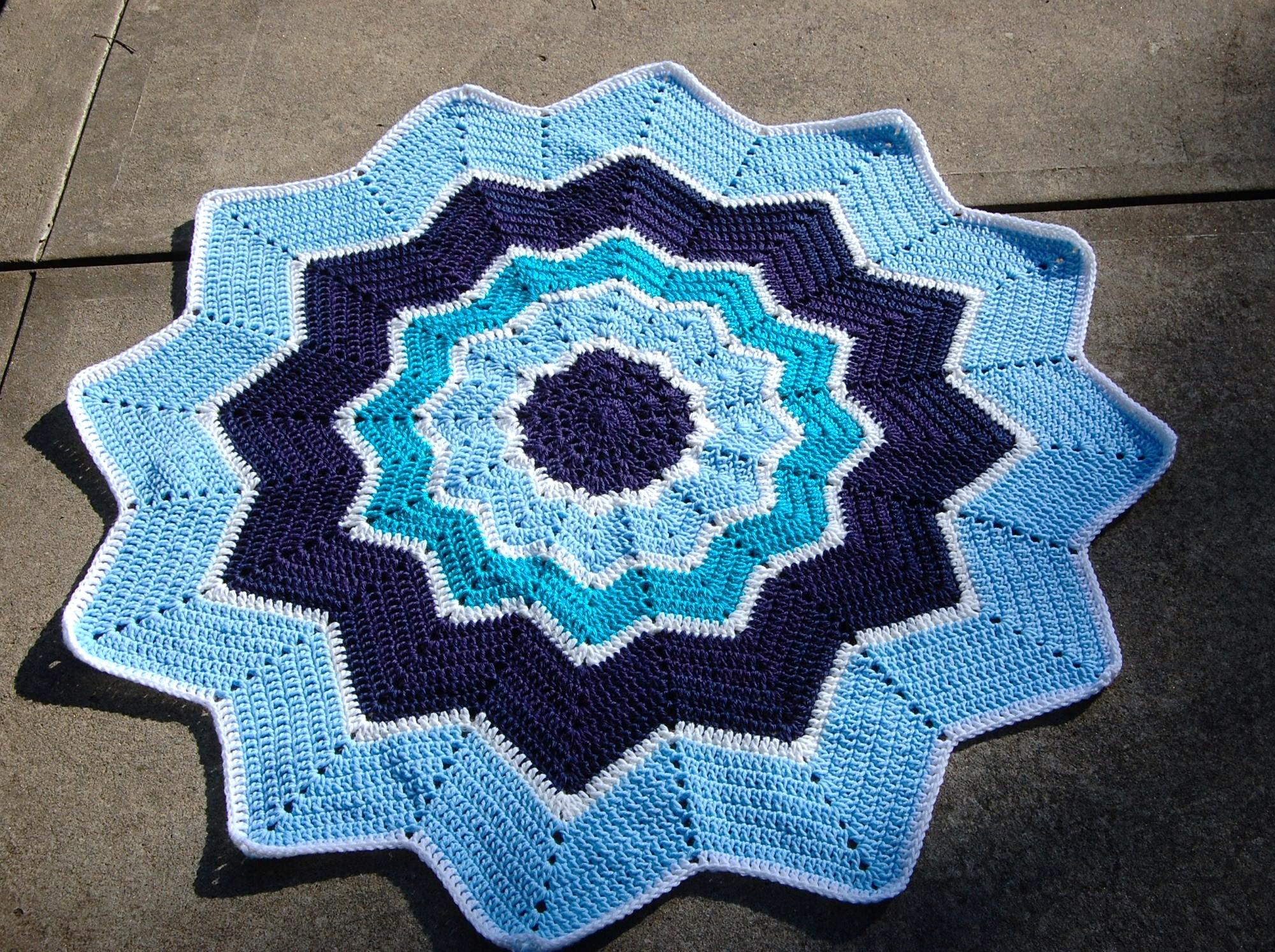 Stay Baby Blanket Crochet Pattern