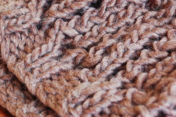 chunky knit open fall hat free pattern