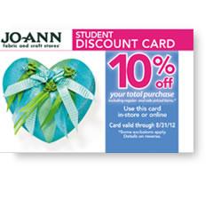 jo-ann-fabric-student-discount-card