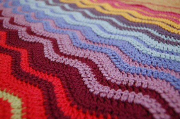 Crochet Ripple Blanket