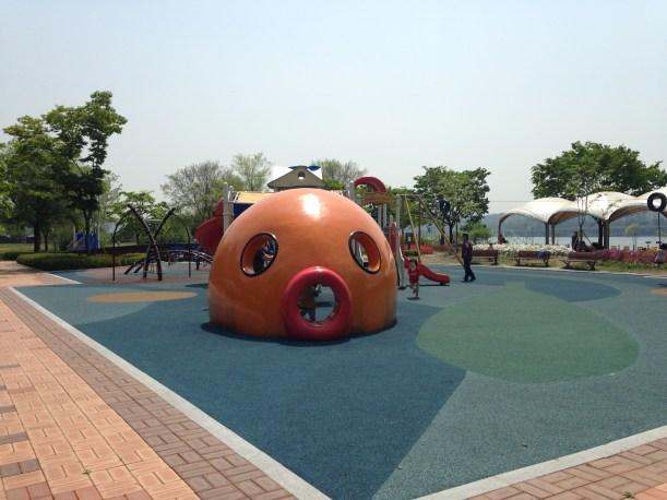 Ichon Hangang Park Playground