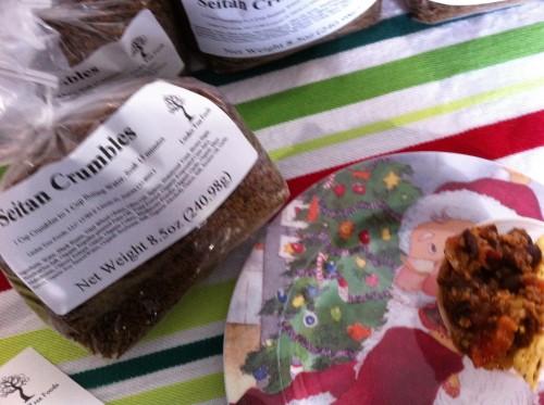Seitan Crumbles from Linden Tree Foods