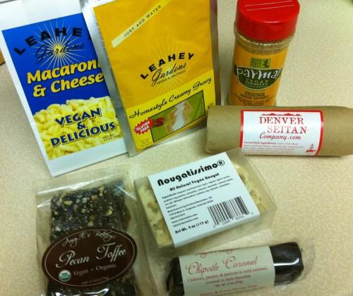 Vegan groceries from NOOCH, Denver, CO