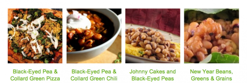 Vegan Black-Eyed Peas and Collard Greens by JL Fields on JL goes Vegan