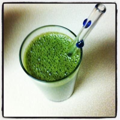 Green Smoothie on JL goes Vegan