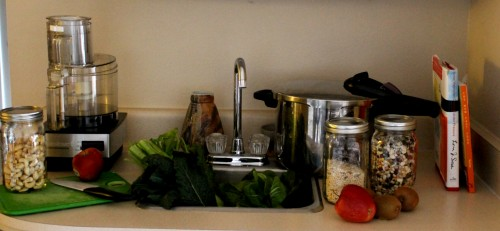 In the Kitchen with JL goes Vegan A cooking demo class