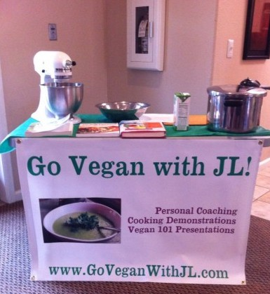 Pressure Cooker Class with JL Fields, Go Vegan with JL