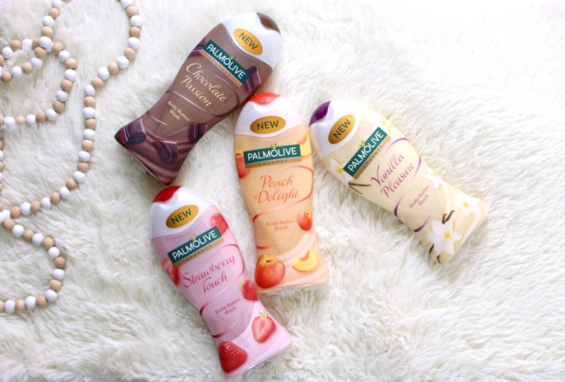 review  palmolive gourmet body butter wash