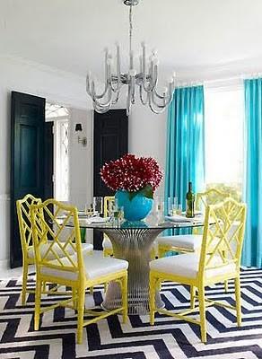 hollywood-regency-dining-room 2