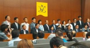 建制派議員下午5時召開記者會,解釋集體離場原因。