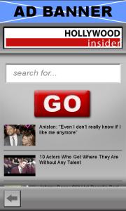Versaly Video App - Search screen