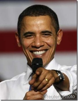 Barack Obama at Town Hall Meeting in California
