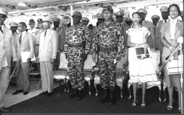 Jean-Claude Duvalier, Commander in Chief