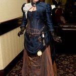 TARDIS dress by Christine Mak 2