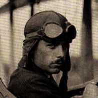 Charlie Meyers, volunteer aviator, World War I.