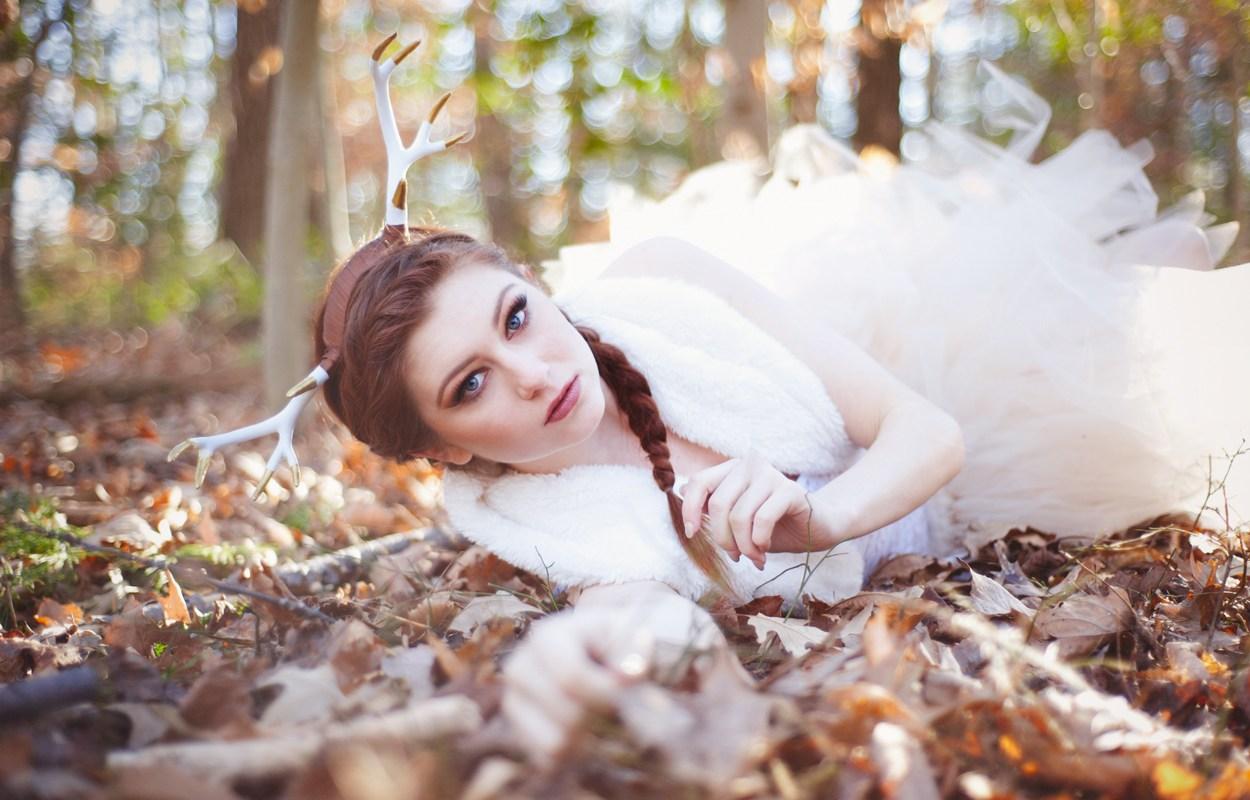 Winter Deer – Maryland Editorial Photography