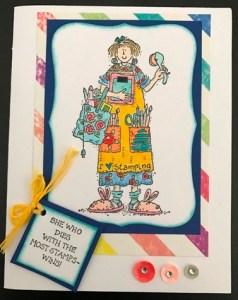 stamping stella card