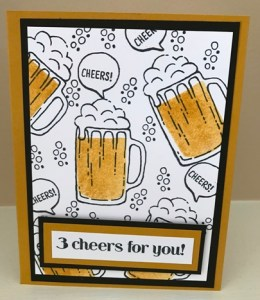 3 cheers to you card